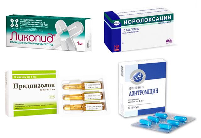 препараты для лечения реактивного артрита