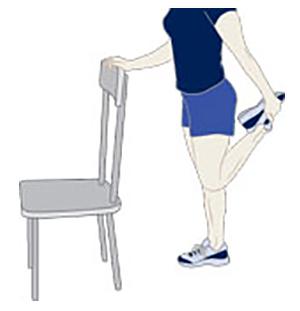 иллюстрация упражнения №1 на растяжку