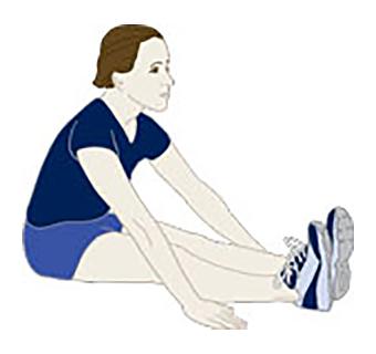 иллюстрация упражнения №2 на растяжку
