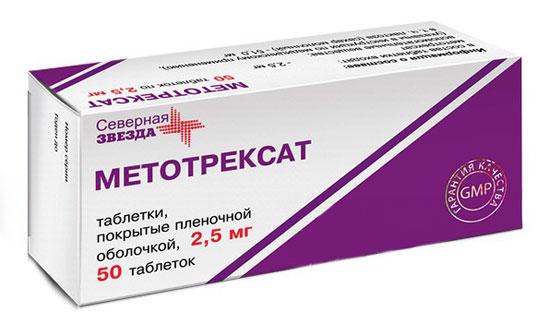 болезнь-модифицирующий антиревматический препарат Метотрексат
