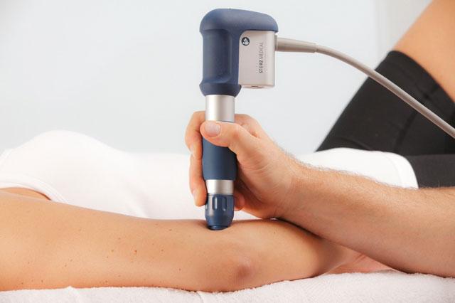 лечение локтя ударно-волновой терапией