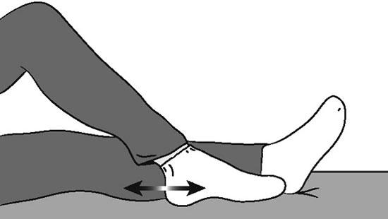 сгибание ноги в суставе