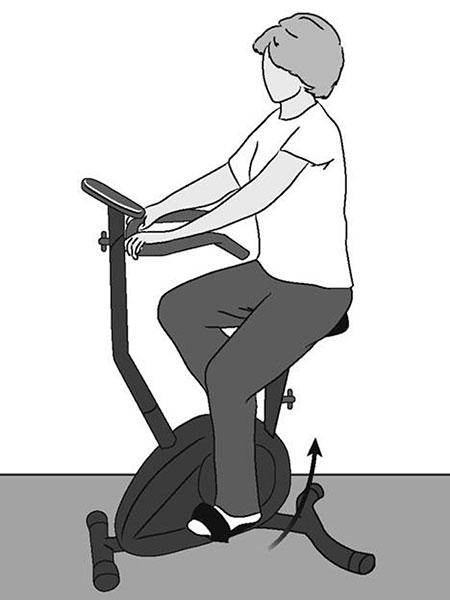 Упражнения после эндопротезирования тазобедренного сустава дома