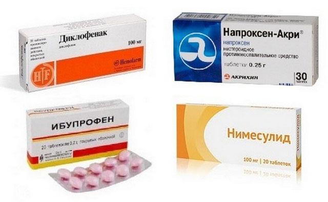 нестероидные противовоспалительные средства для снятия боли при поясничном спондилезе