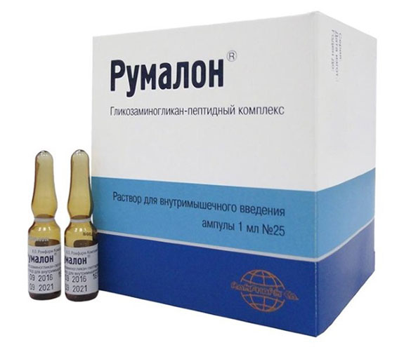 гликозаминогликан-пептидный комплекс Румалон