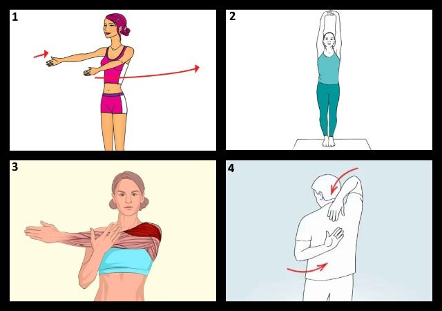 примеры упражнений лечебной гимнастики