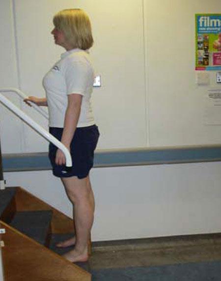 упражнение с лестницей, часть 2