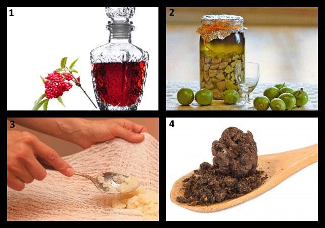 ингредиенты для домашних компрессов