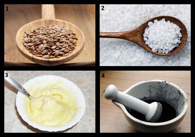ингредиенты для приготовления мази с активированным углем