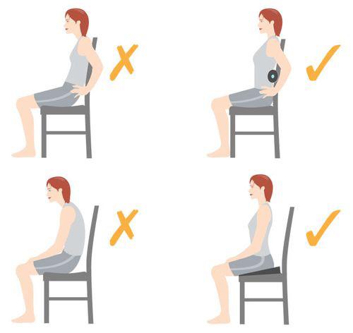 как правильно сидеть на стуле
