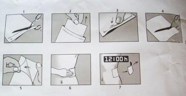 инструкция по применению пластыря версатис