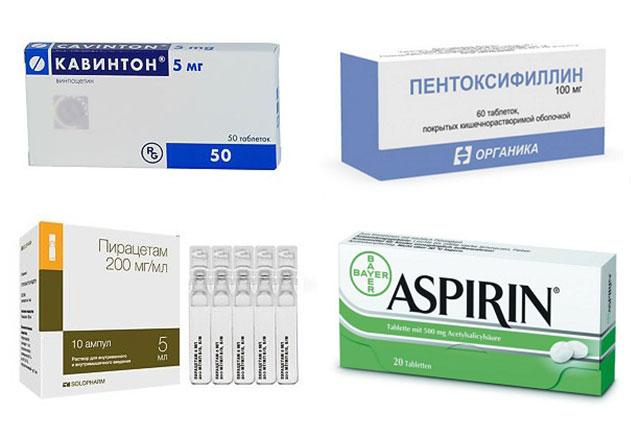 препараты от шума в ушах