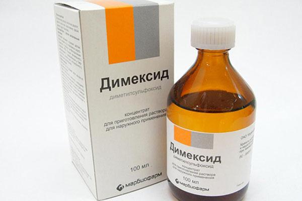 аптечный раствор Димексида