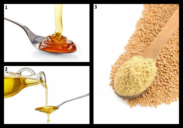 ингредиенты для домашней мази