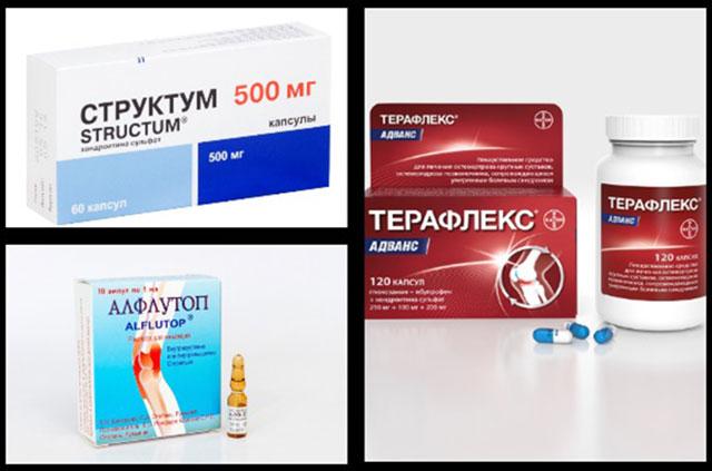 препараты из группы хондропротекторов