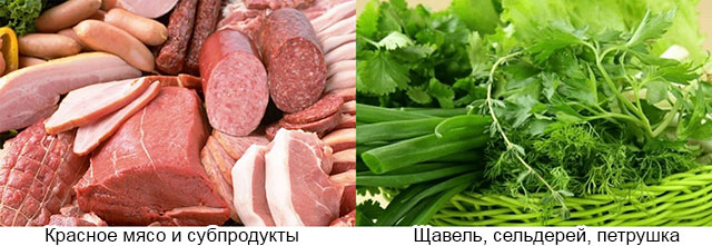 запрещенные продукты при подагрическом артрите