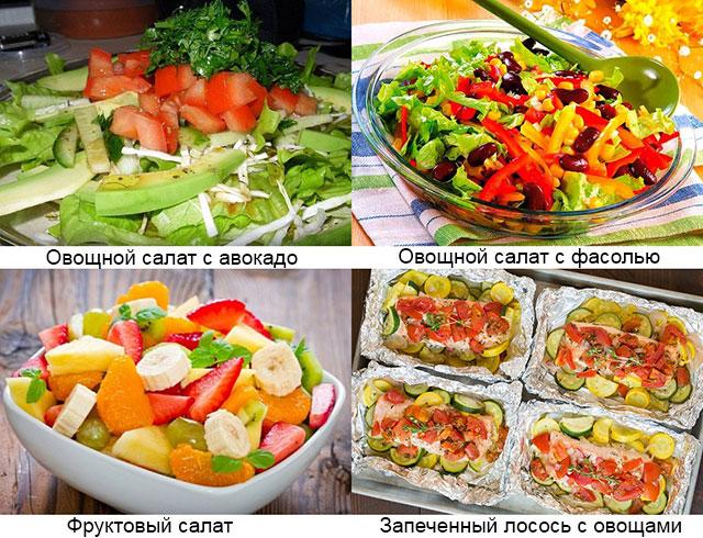 примеры разрешенных блюд при псориатическом артрите