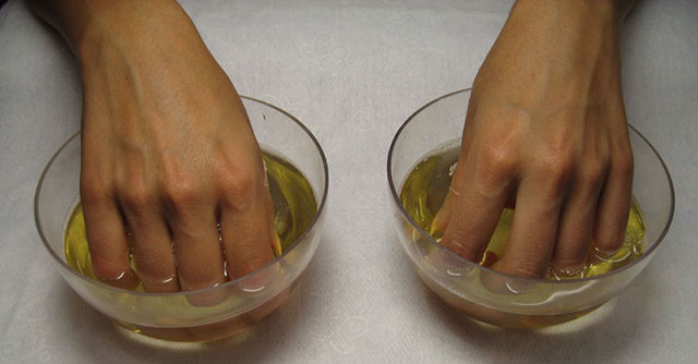 лечебная ванночка при артрите пальцев рук