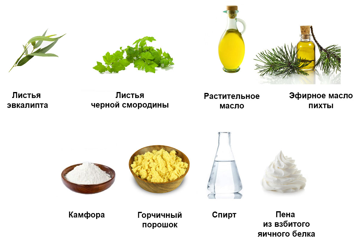 ингредиенты для народных средств от боли в суставах пальцев рук