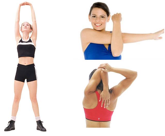 упражнения при тендините