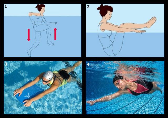 упражнения в воде при поясничном остеохондрозе