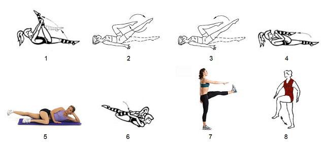 упражнения при гонартрозе 1 и 2 степени