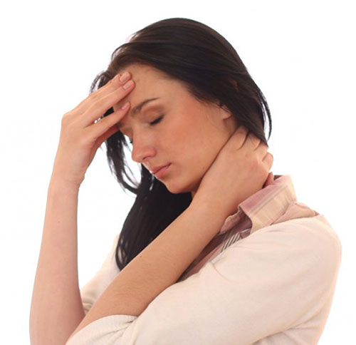 Локализация головной боли при шейном остеохондрозе