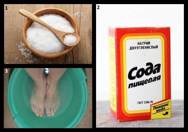 приготовление густого раствора соли