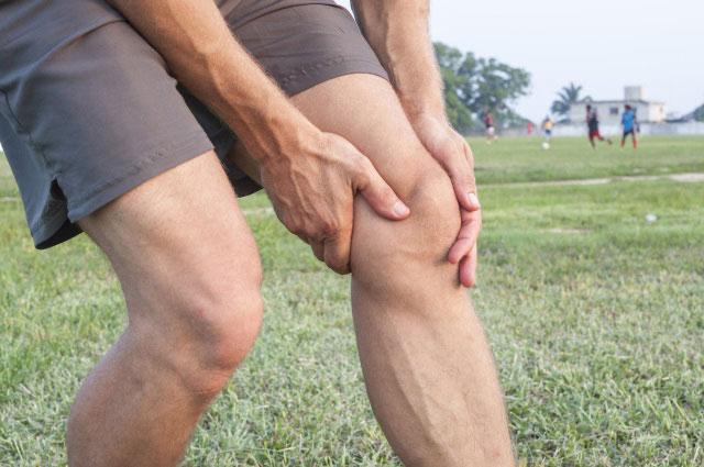 ушиб колена легкой степени