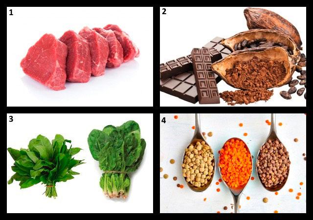 продукты, содержащие большое количество пуринов и щавелевой кислоты