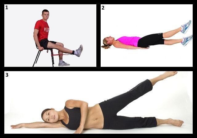 примеры лечебной гимнастики для коленных суставов