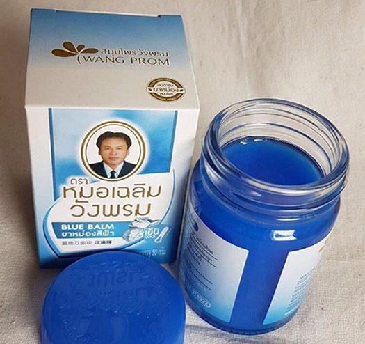 синий бальзам Ванг Пром
